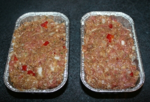 Entree Beef Meatloaf mini I