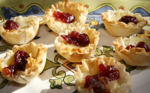 New Appetizer Brie Tarts