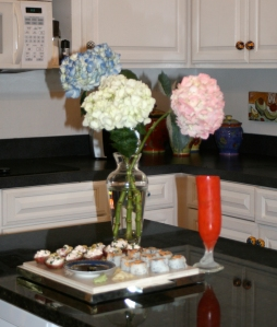 Simple Kitchen hors doeuvres