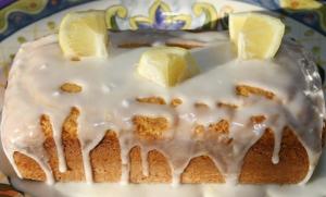 Dessert Lemon Yogurt Loaf Icing