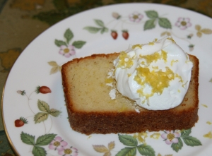New Lemon Yogurt Loaf