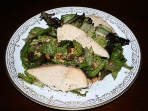 Entree Salad Peg's Signature with Chicken