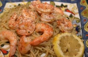 Italian Dressing Shrimp