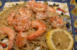 Italian Dressing Shrimp