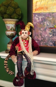 Monkey with Pearls