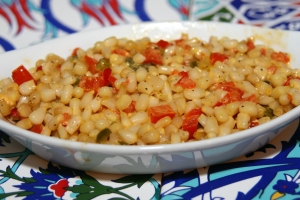 Baked Corn and Peppers II