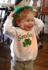 St. Patrick's Day at my home in South Boston