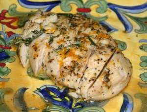 Entree Chicken Orange Rosemary Chicken I