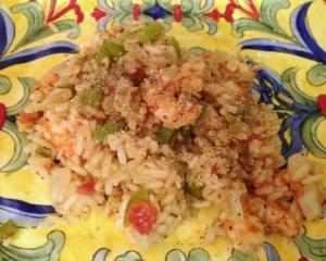 Entree Seafood Simple Shrimp Gumbo II