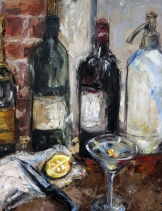 Oil on Canvas, by Nicole Etienne, from a Private Collection