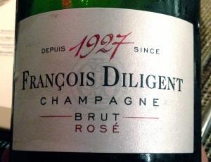 Dinner II champagne