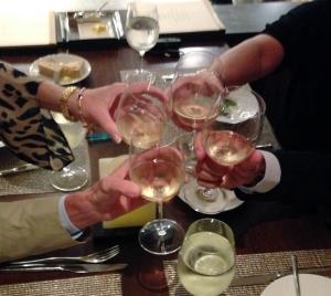 Dinner IV cheers
