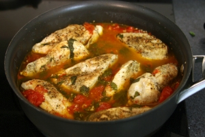 Entree Chicken Tomato Basil Chicken I