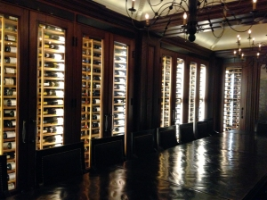 One Helluva Wine Cellar, Complete with Corporate Table, The Jefferson