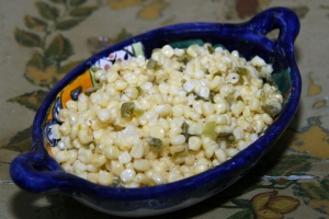 Starch Sauteed Corn with Jalapenos