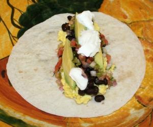 Brunch Mexican Breakfast Tortilla