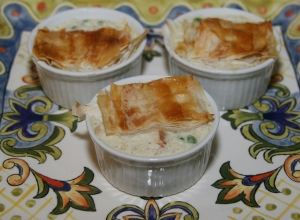 Entree Chicken Mini Pot Pies