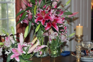 Dining Room Lillies II