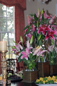 Dining Room Lillies
