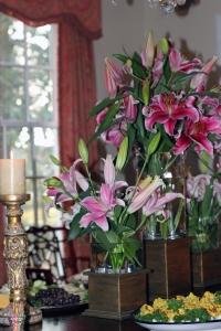 Dining Room Lillies