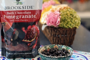 Pomegranate Chocolate Candy
