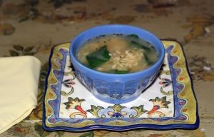 Soup Vegetable Chicken Orzo II