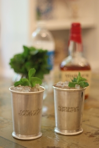 Adult beverage mint julep