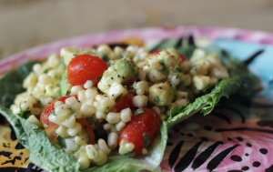 Salad Grilled Corn Avocado Tomato
