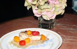 Entree Seafood Mahi and Tomatoes