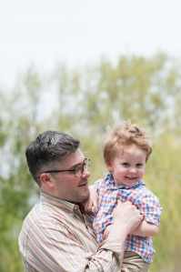 My AMAZING son-in-law Marc, with my AMAZING grandson Liam