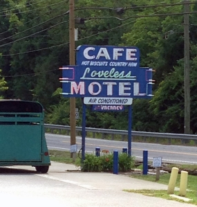 Loveless Cafe Sign