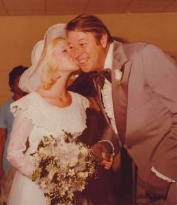 My Daddy on my Wedding Day, 1975
