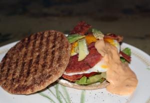 Sandwiches BLAT Egg