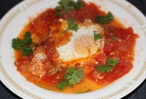 Brunch Baked Eggs in Tomato Sauce