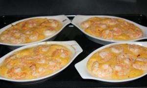 Shrimp and Grits Baking Sheet