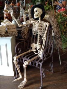 Skeleton Waving