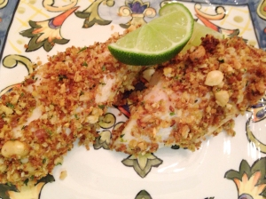 Entree Chicken Nut Crusted Breast III