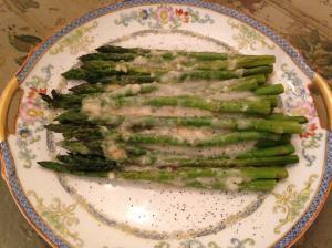 Vegetable Asparagus Gratin III