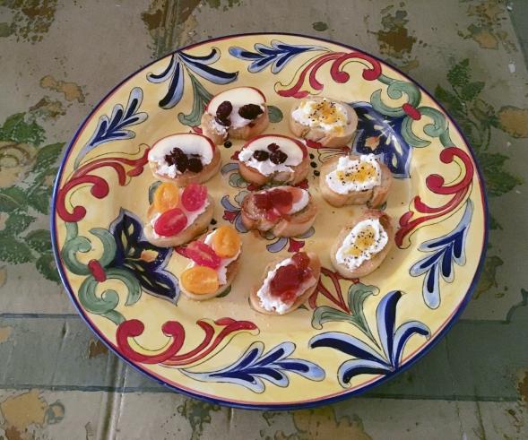 Appetizer Bruschetta Variety