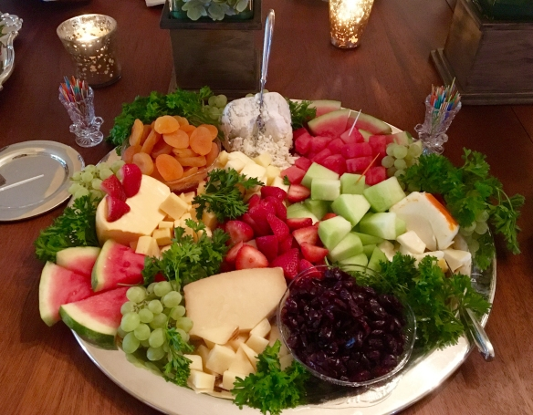 Appetizer Cheese Tray