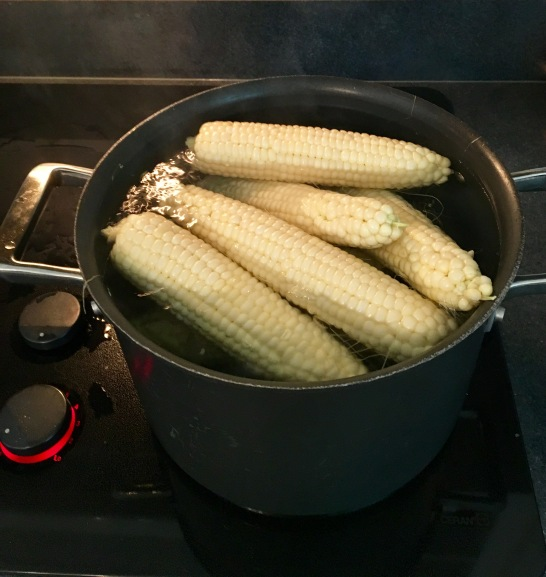 Freezing Corn I