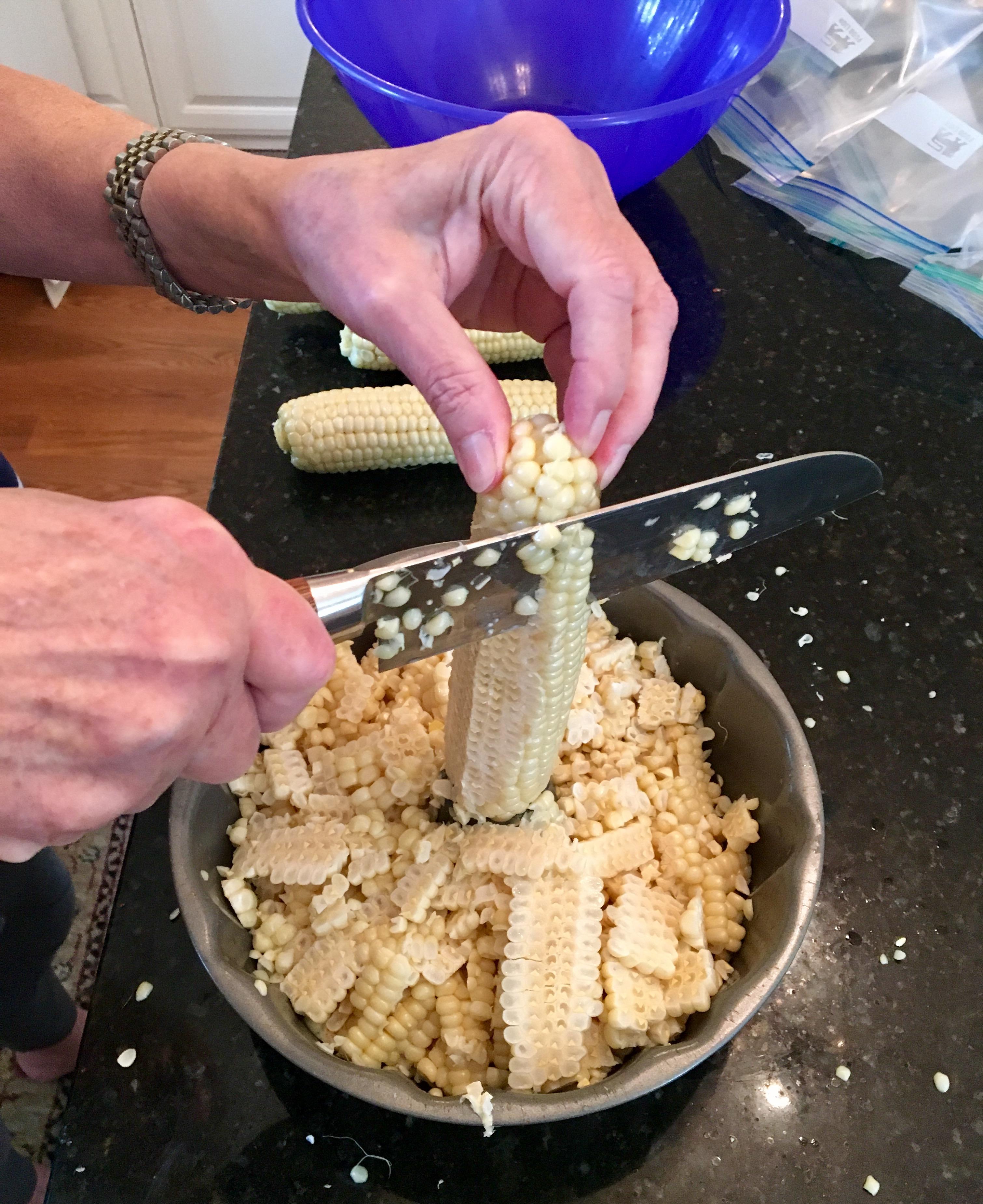 Freezing Corn IV