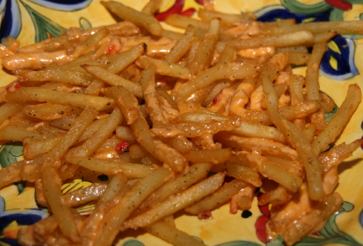 New Appetizer Pimento Cheese Fries