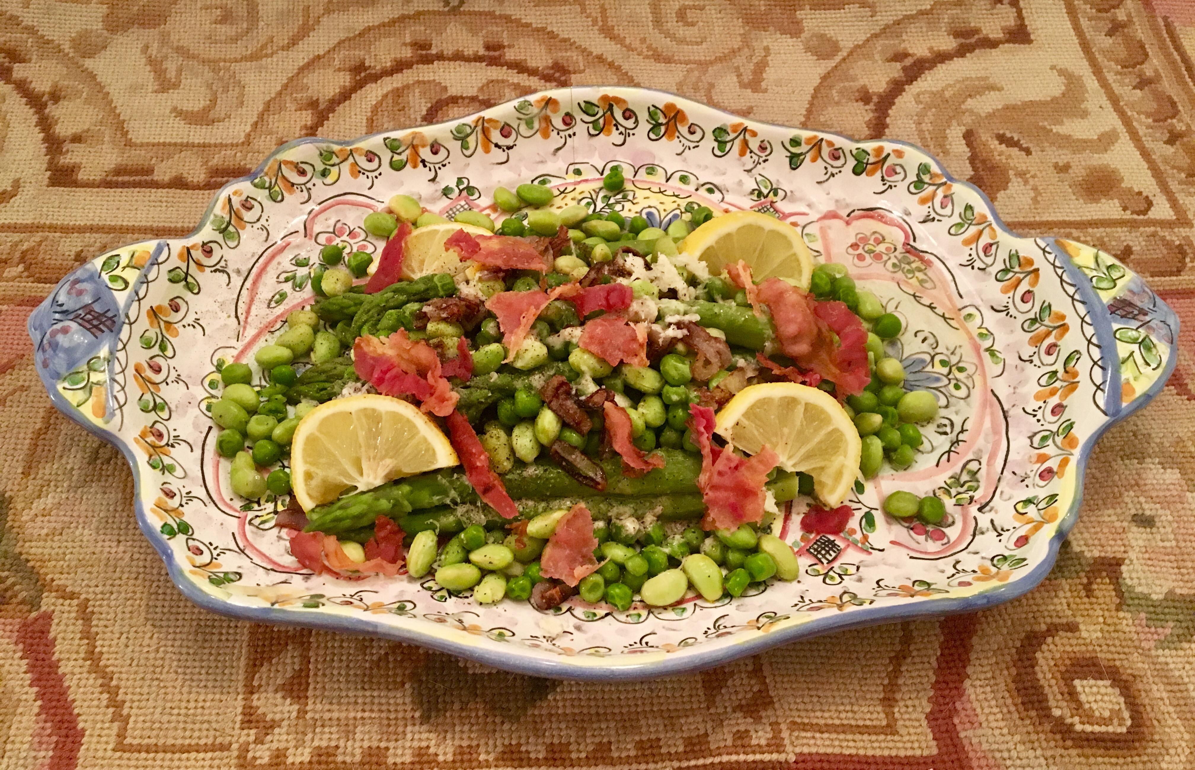 Vegetable Asparagus, Pea, Edamame
