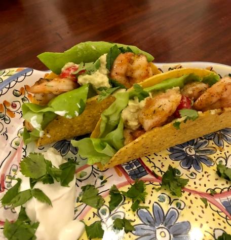 Southwestern Shrimp Tacos