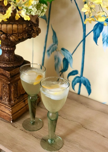 Adult Beverage Lemon Prosecco Cocktail